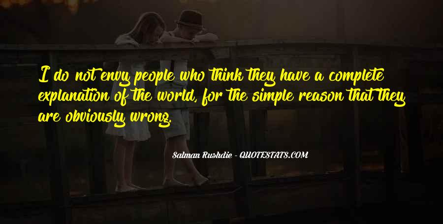 Quotes About Envy People #97530