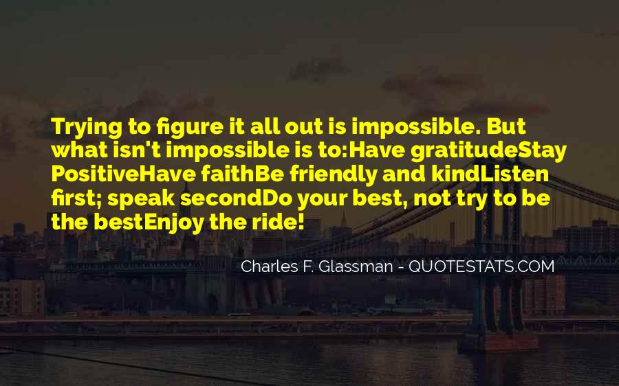 Just Enjoy The Ride Quotes #1080164