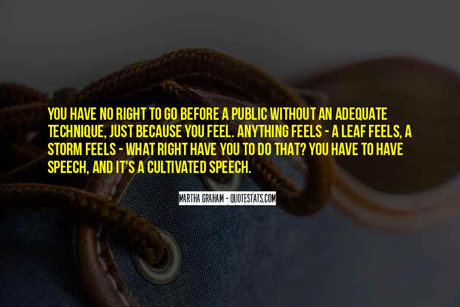 Just Feels Right Quotes #1275540