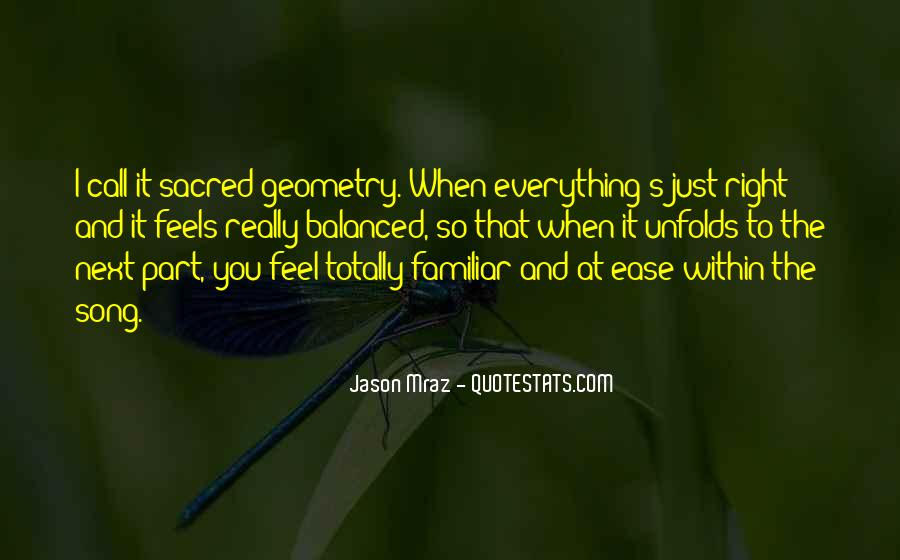 Just Feels Right Quotes #1295390