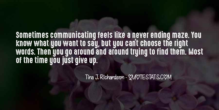 Just Feels Right Quotes #1565769
