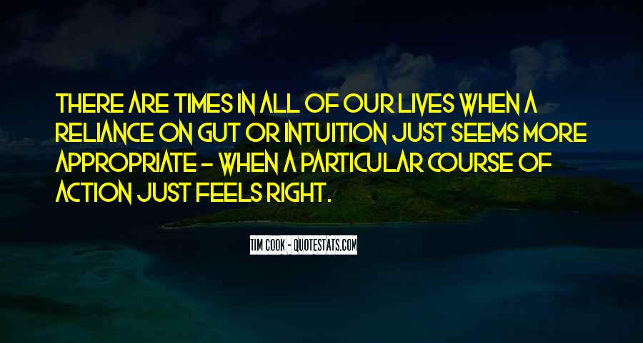Just Feels Right Quotes #531370