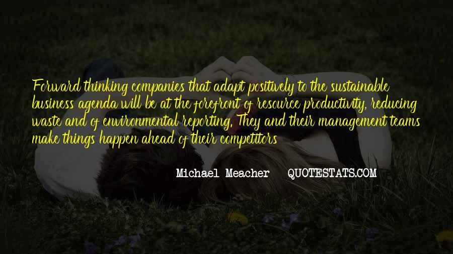 Quotes About Environmental Waste #1427777