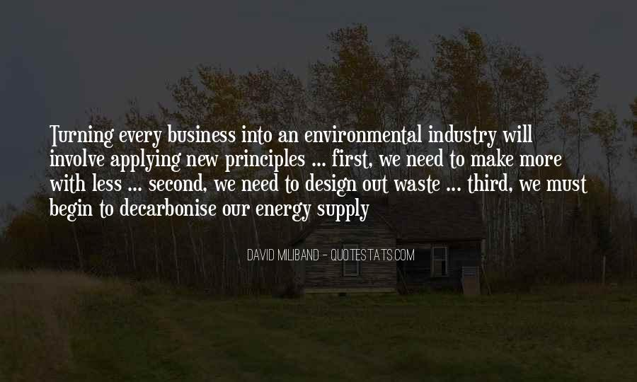Quotes About Environmental Waste #156964