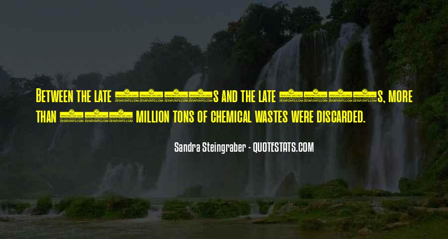Quotes About Environmental Waste #709697