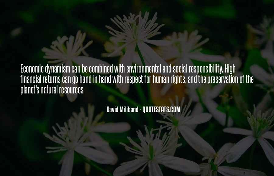 Quotes About Environmental Responsibility #167082