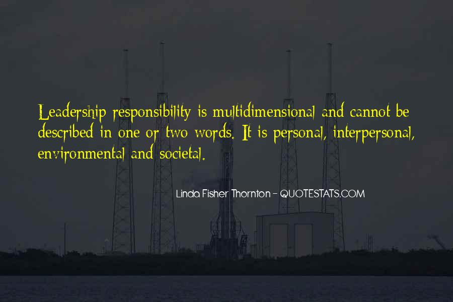 Quotes About Environmental Responsibility #2731