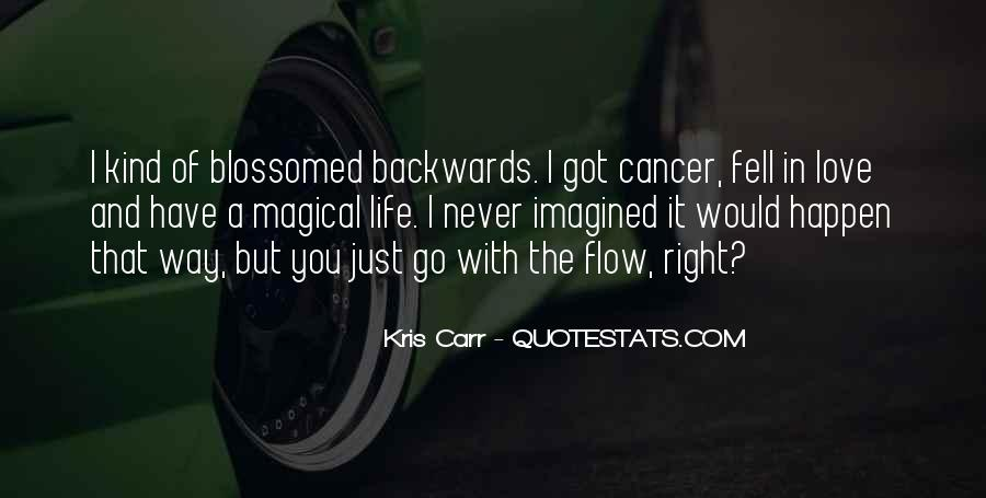 Just Go With Flow Quotes #105945
