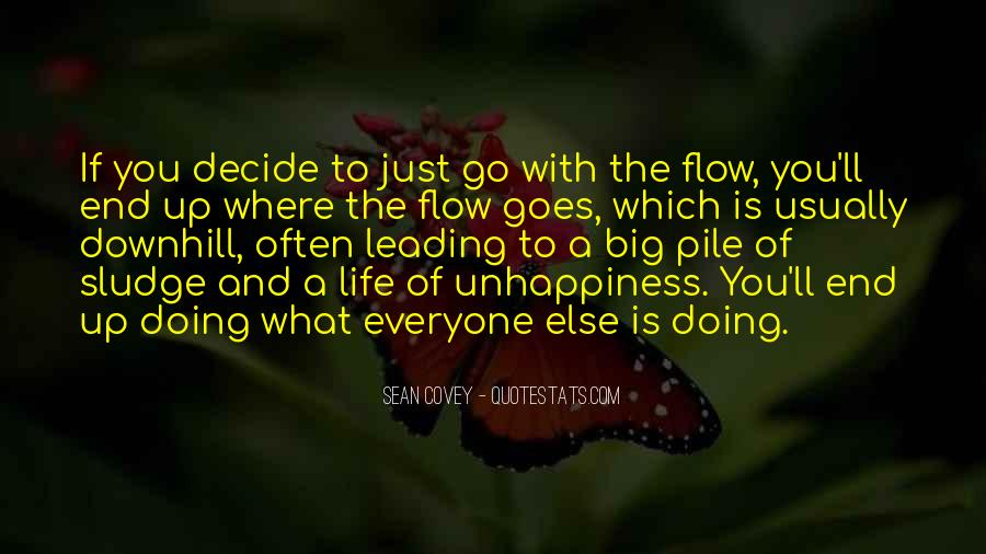 Just Go With Flow Quotes #1578198