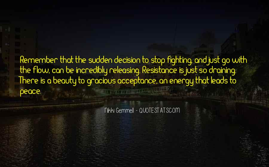 Just Go With Flow Quotes #1690000