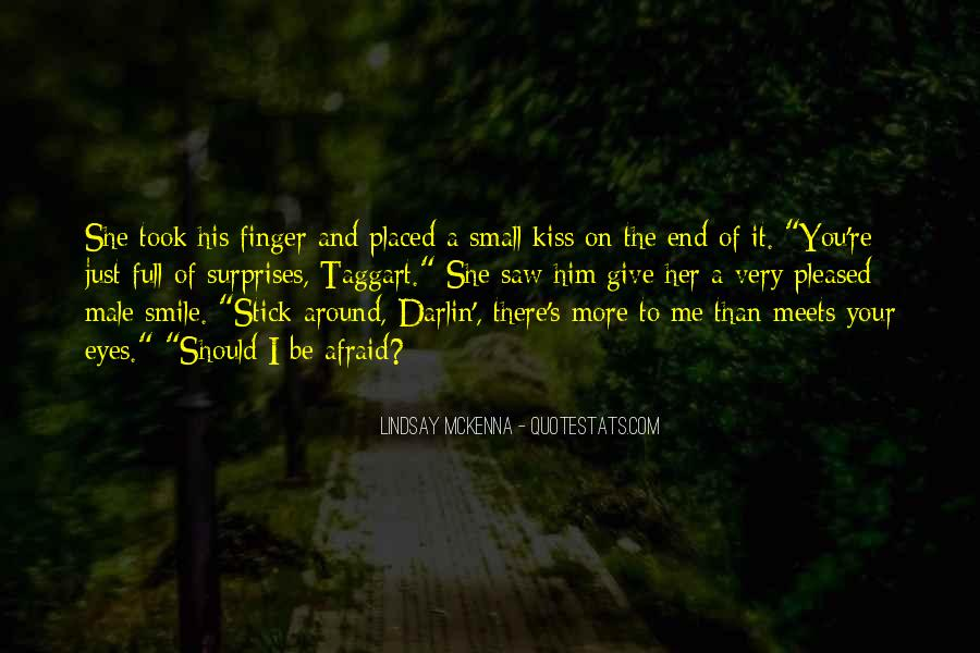 Just Kiss Me Quotes #240112