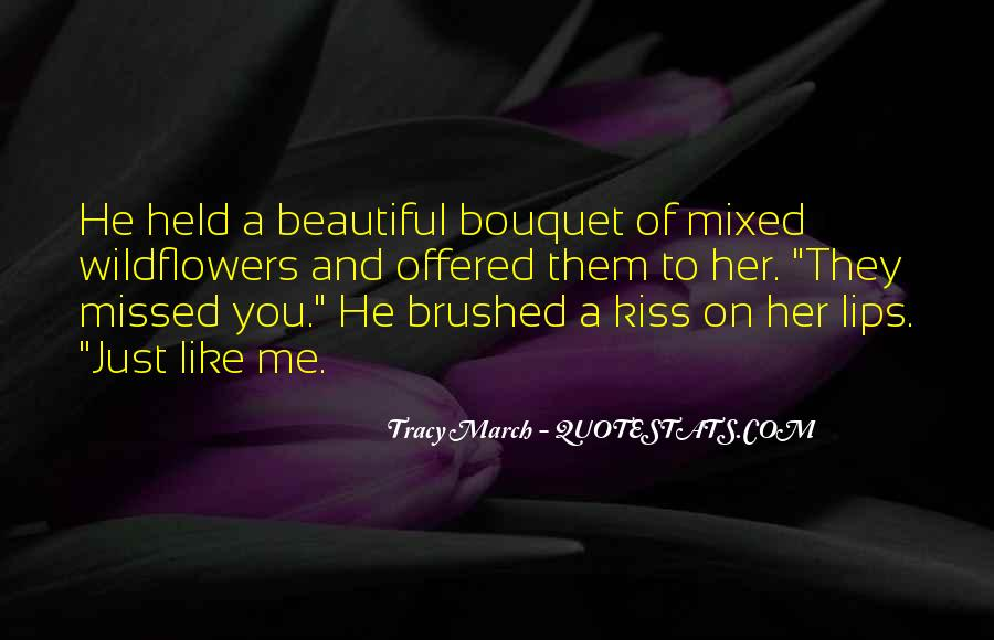 Just Kiss Me Quotes #600718