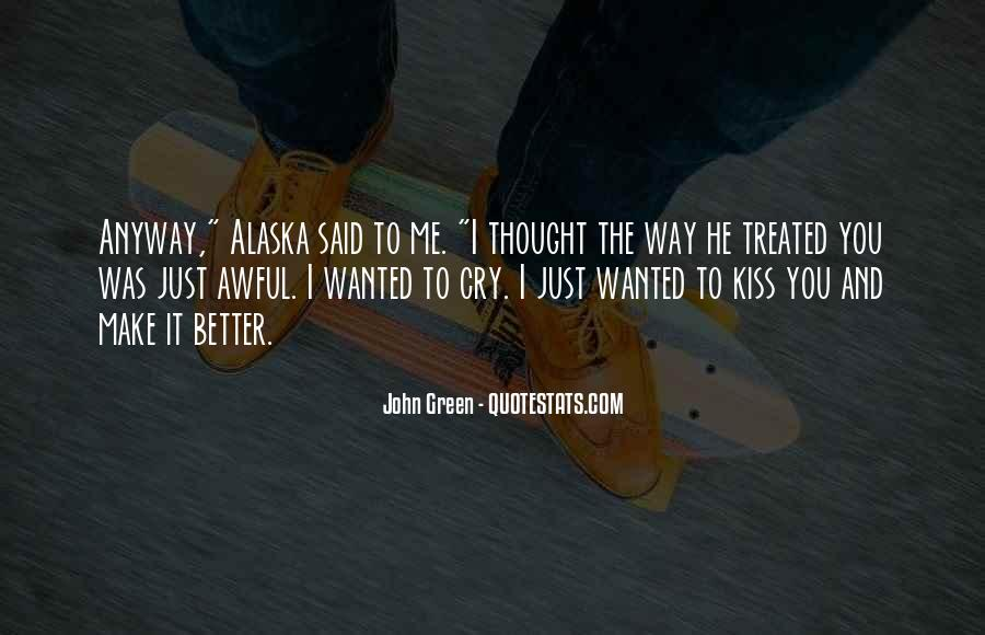 Just Kiss Me Quotes #825527