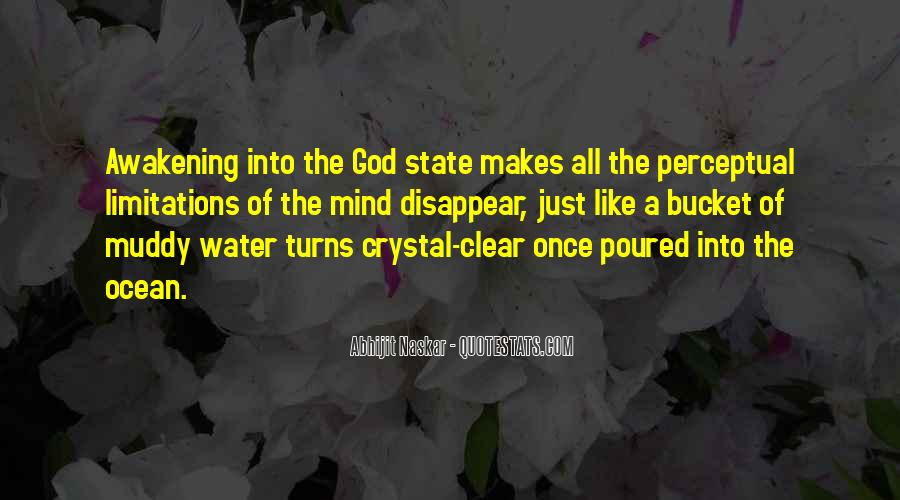 Just Like Water Quotes #1129774