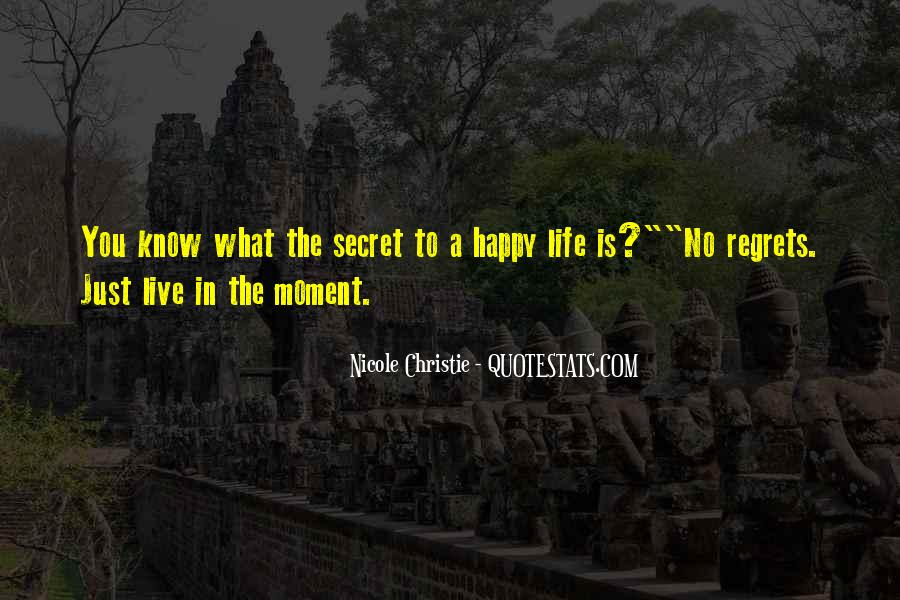 Just Live Happy Quotes #1358329