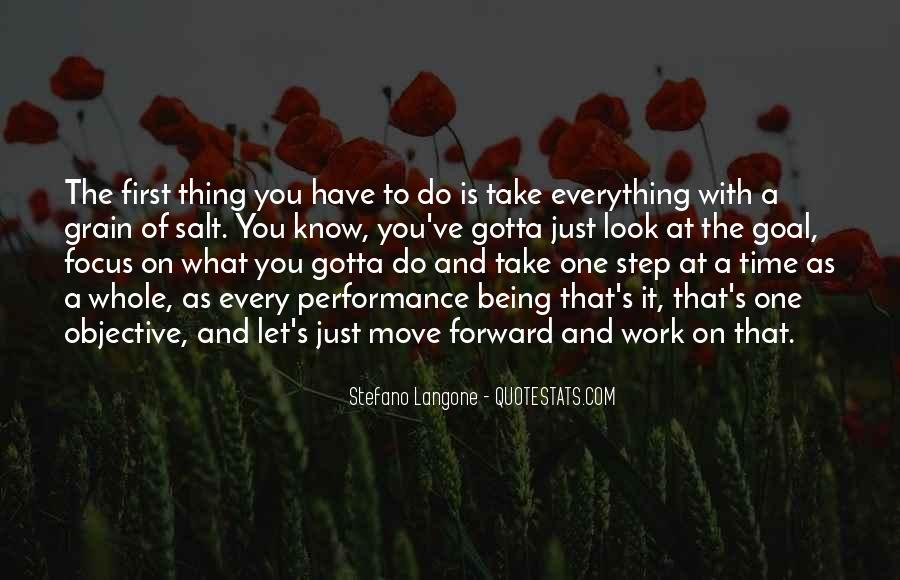 Just Look Forward Quotes #1254896