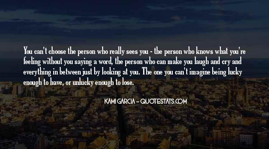 Just Looking At You Quotes #611239