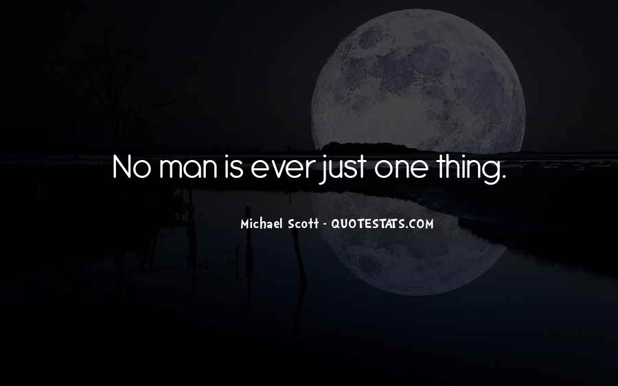 Just Man Quotes #8512