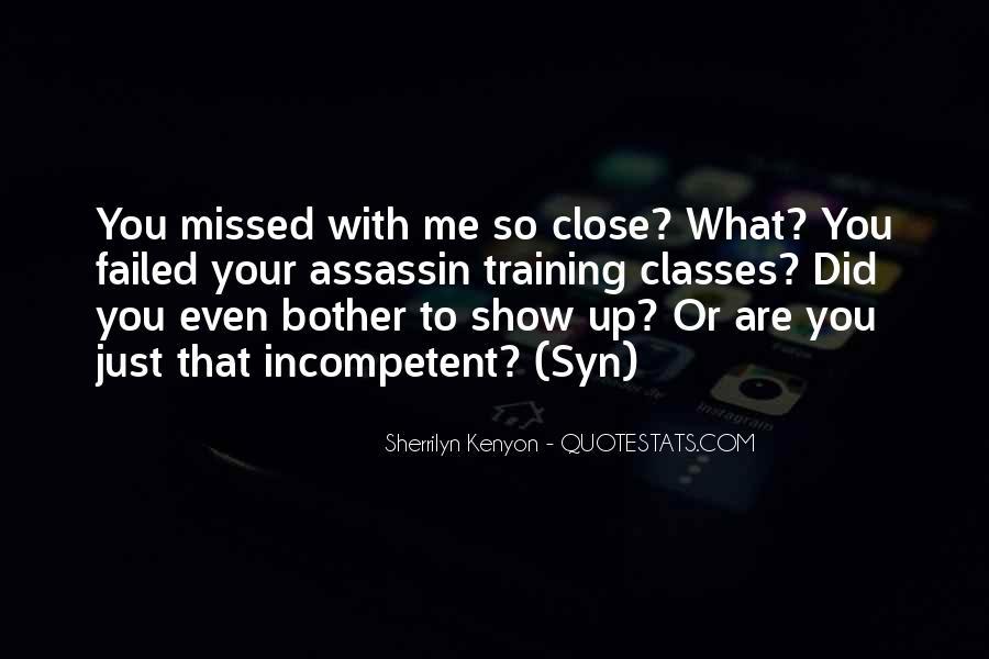 Just Missed Quotes #1068548