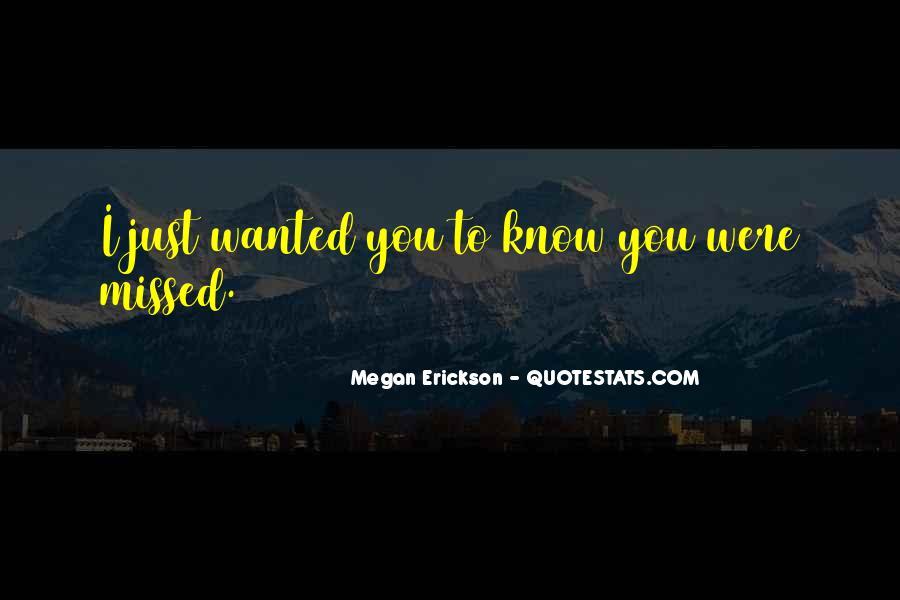 Just Missed Quotes #1145263