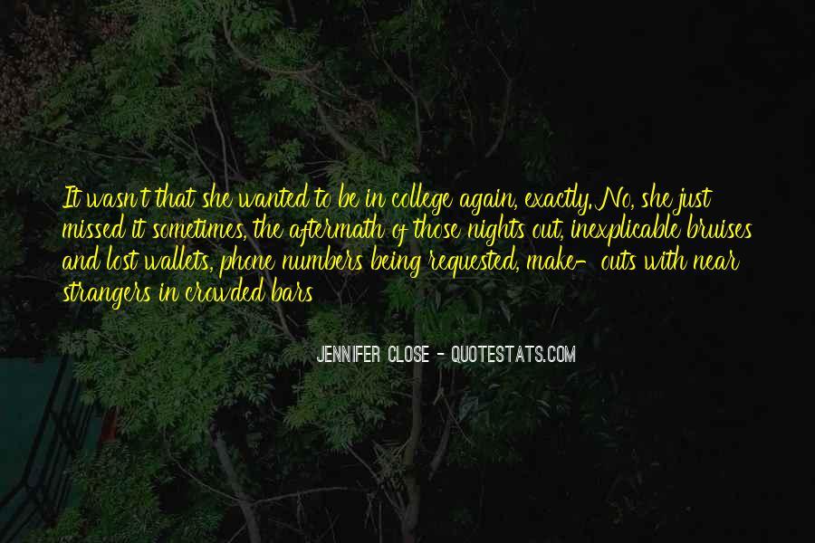 Just Missed Quotes #1197227