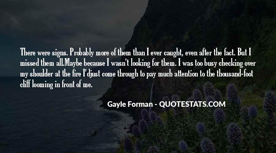Just Missed Quotes #901656