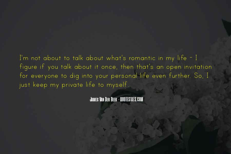 Just Once In My Life Quotes #1277178