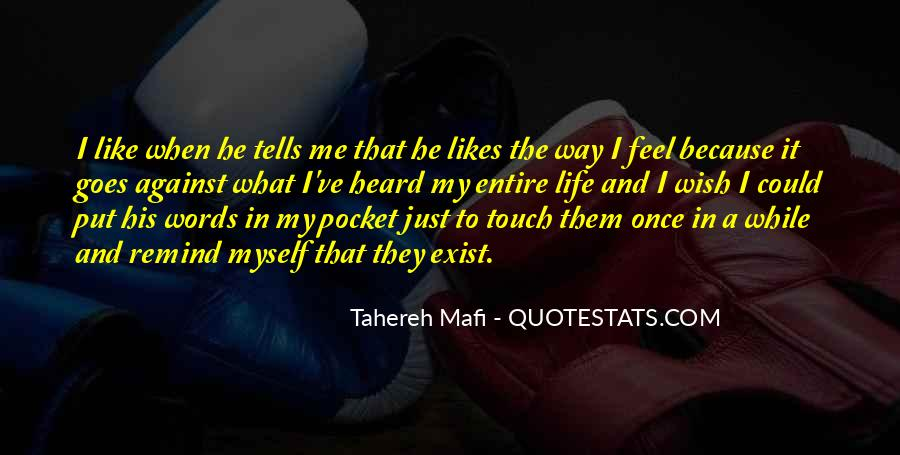 Just Once In My Life Quotes #1627064