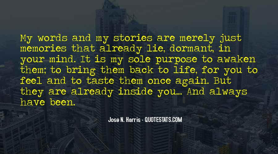 Just Once In My Life Quotes #1737008