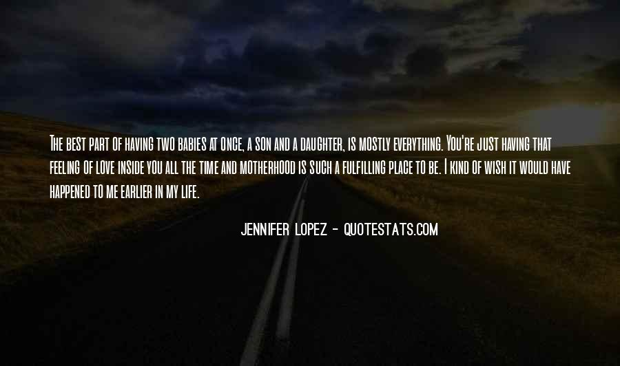Just Once In My Life Quotes #328875