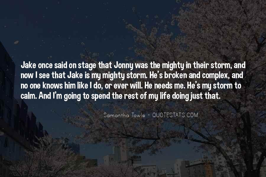 Just Once In My Life Quotes #586535