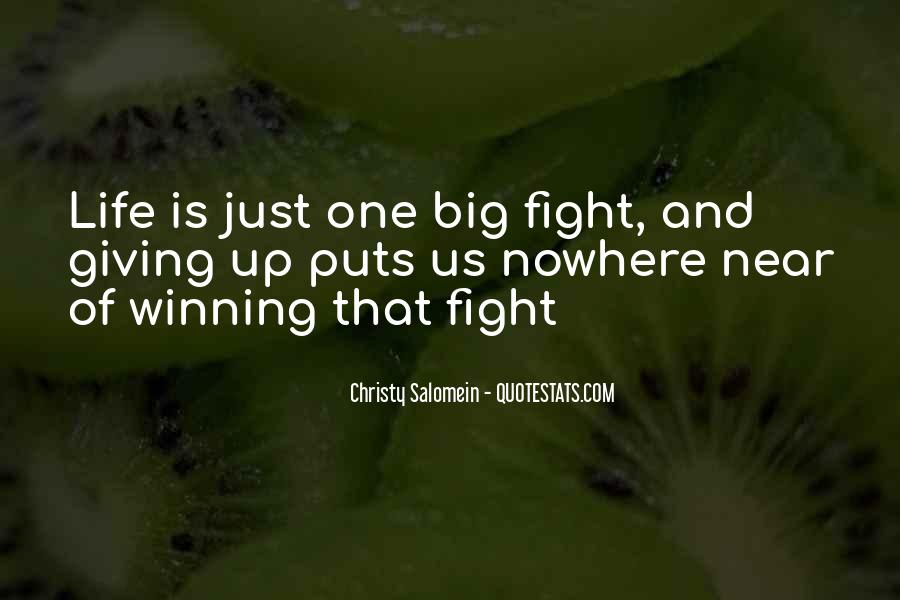 Just One Life Quotes #108787