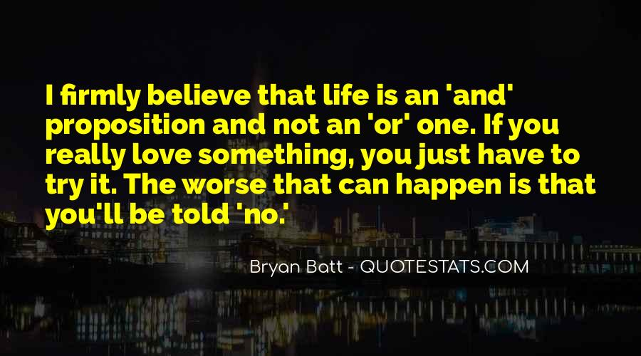Just One Life Quotes #18686