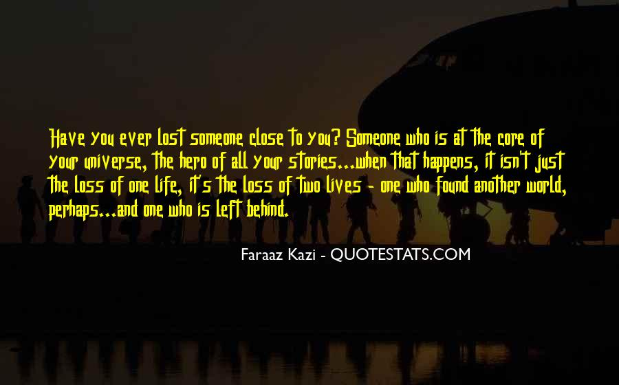 Just One Life Quotes #68790