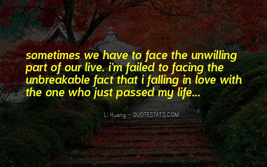 Just One Life Quotes #78534
