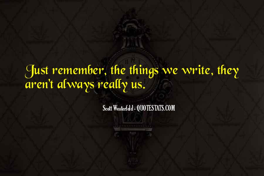 Just Remember Quotes #72660