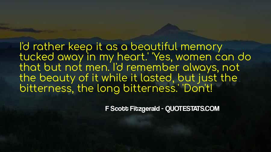Just Remember You're Beautiful Quotes #97841