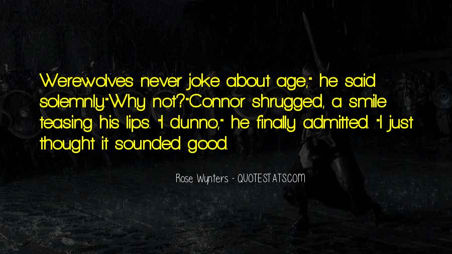 Just Smile Funny Quotes #129025