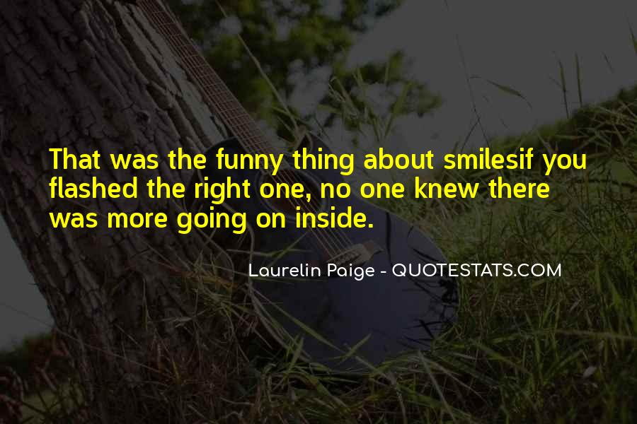 Just Smile Funny Quotes #735783