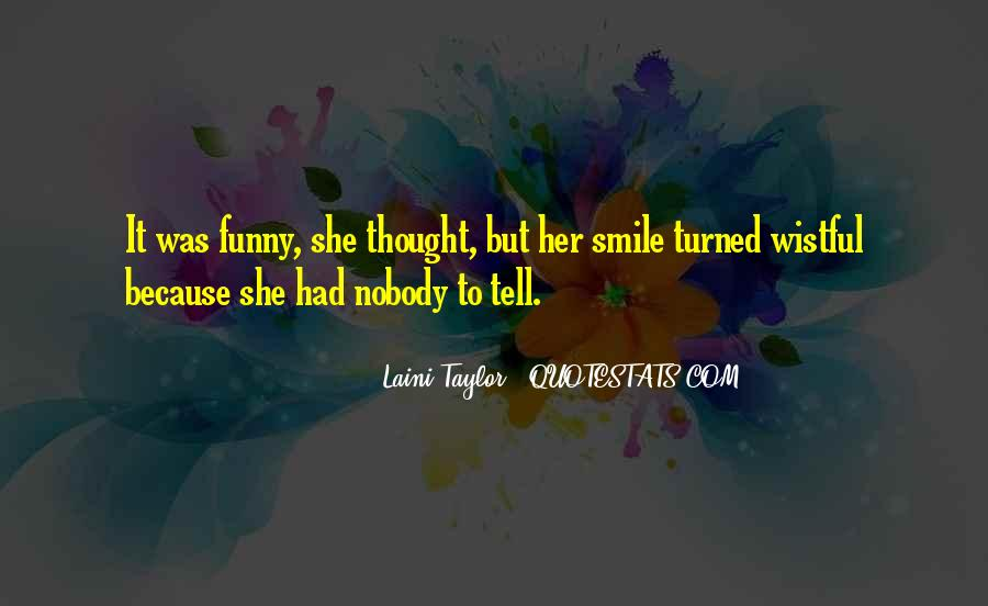 Just Smile Funny Quotes #981365