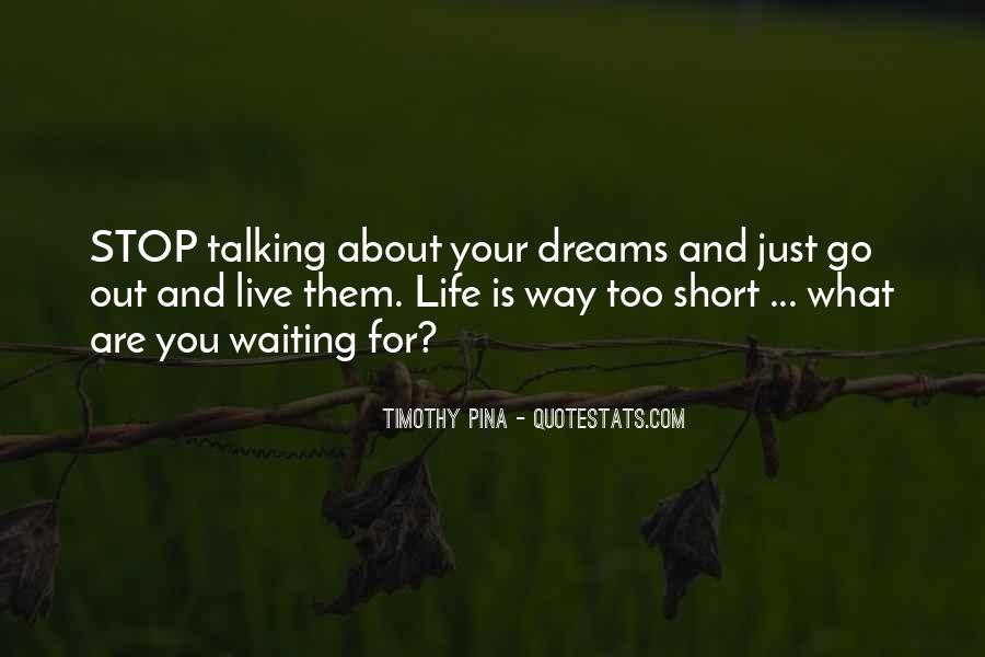 Just Stop Talking Quotes #1149487