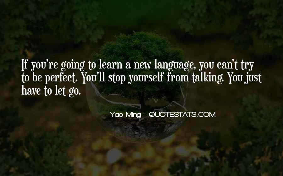 Just Stop Talking Quotes #1442925