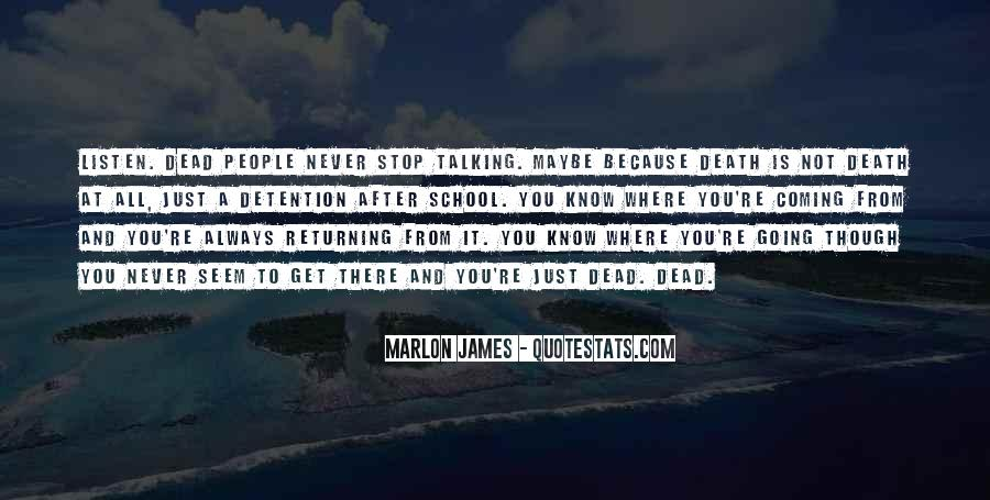 Just Stop Talking Quotes #1556457