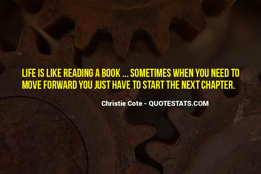 Just The Start Quotes #158423