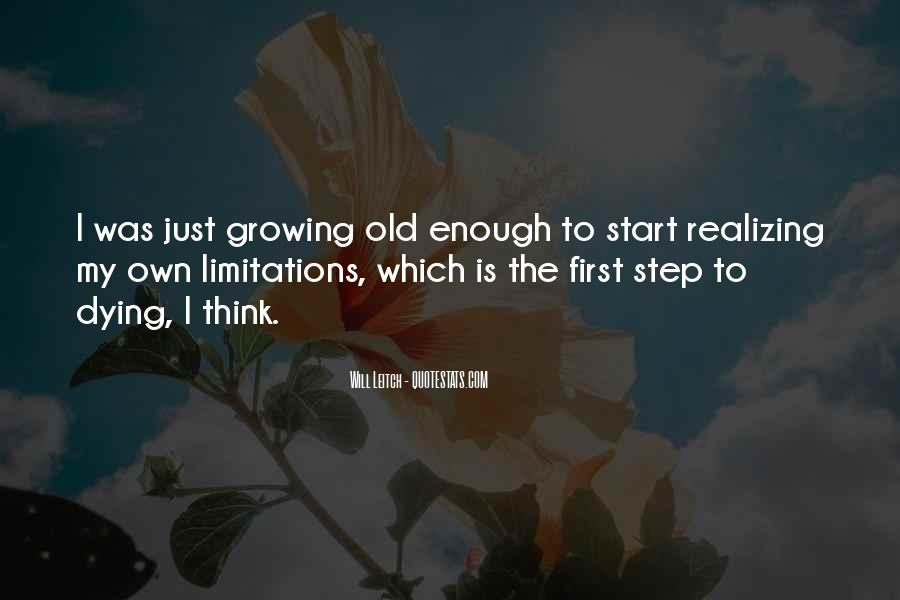 Just The Start Quotes #172846