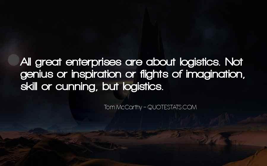 Quotes About Enterprises #296947