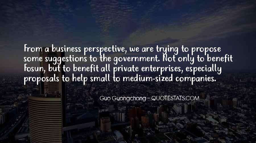 Quotes About Enterprises #399065