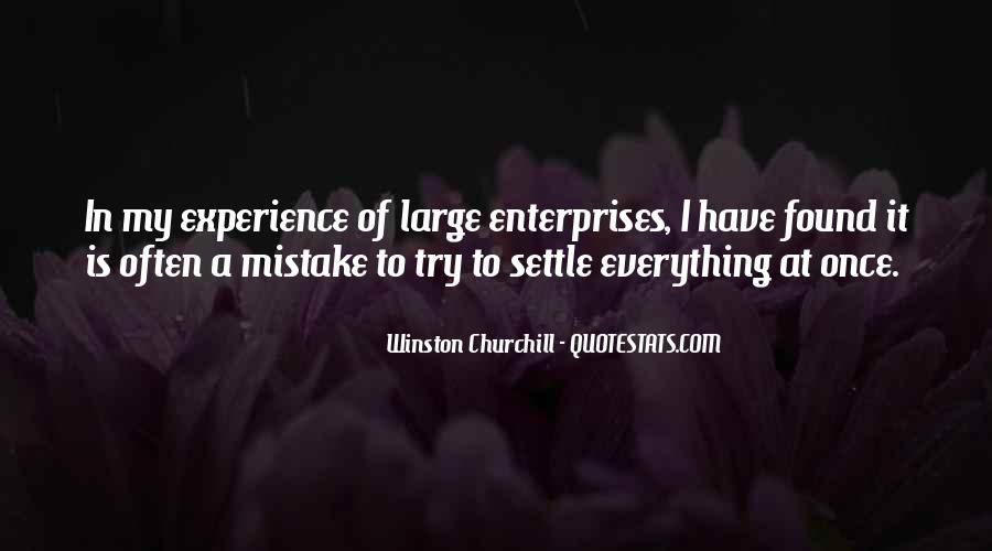 Quotes About Enterprises #465443