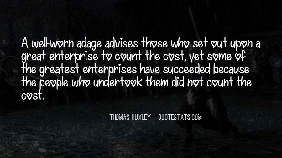 Quotes About Enterprises #908549