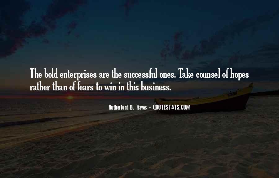 Quotes About Enterprises #9843
